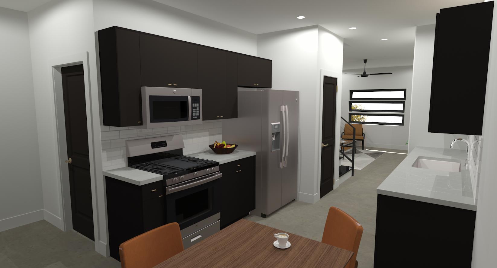 Kitchen Final Range BK_ Gold